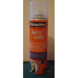 Colle AEROCOL REPOSITIONNABLE en bombe aérosol de 250 ml